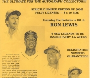 1989 ron lewis flyer, blank back