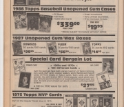 1988 san diego sports collectibles, winter/spring catalog