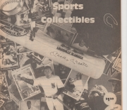 1987 san diego sports collectibles, winter/spring catalog