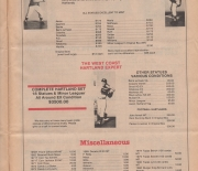 1988 sports card plus, winter/spring revised catalog