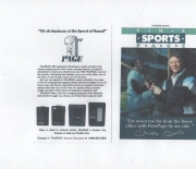 1988-1992 era first page , small ad