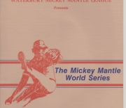 1987 mickey mantle world series, waterbury, conn.