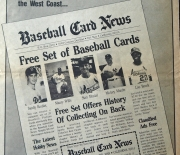 1982 baseball card news nov.