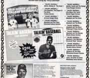 1983 baseball advertiser