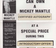 1989 certified autographs