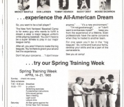 1985 yankees magazine