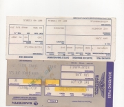 1985 eastern airlines boarding pass