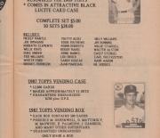 1989 richard gelmans card collectors company