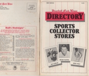 1983 baseball card news directory 1st edition