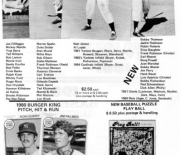 1982/83 Den Collectors Den Fall/Xmas/Winter
