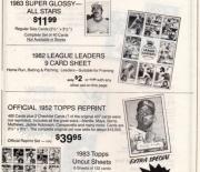 1983 Baseball Advertiser