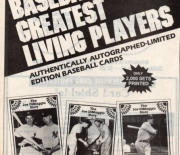 1983 baseball advertiser spring