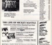 1983 Baseball Advertiser summer