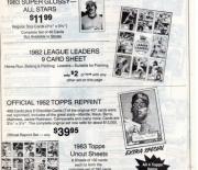 1983 Baseball Advertiser fall