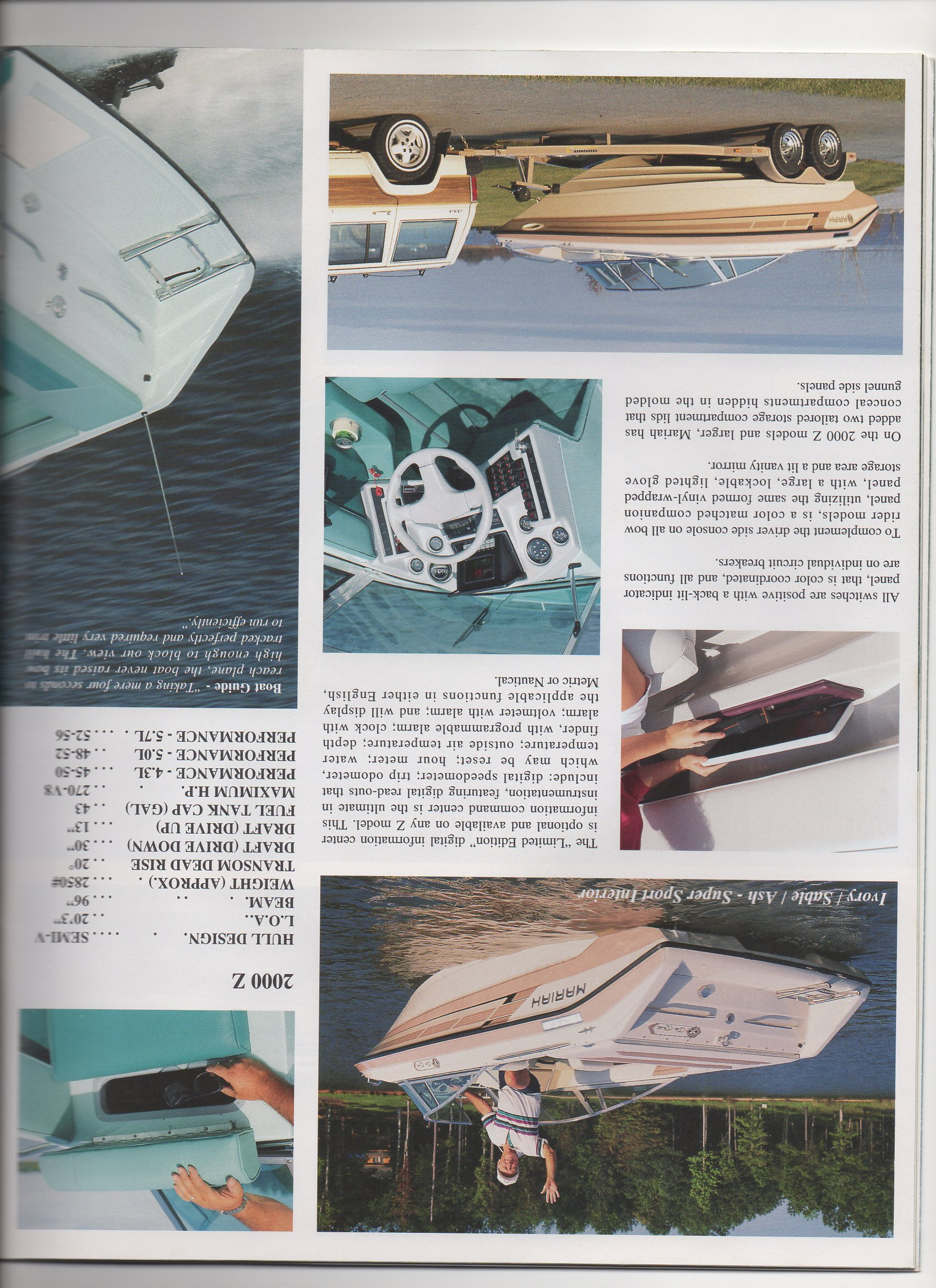 1992 mariah boats catalog