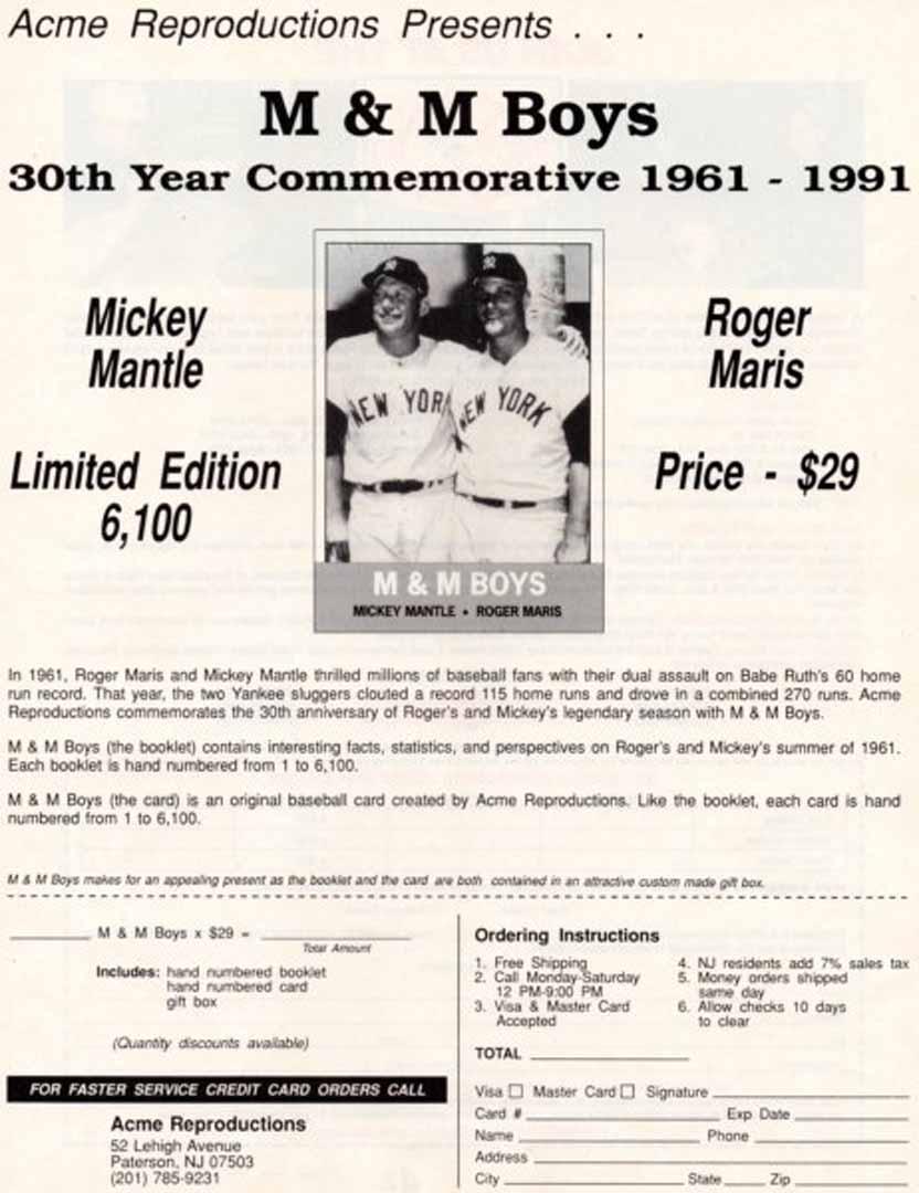 1992 yankees magazine