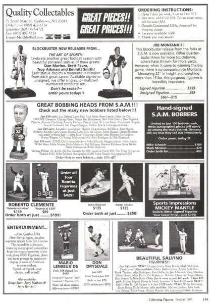 1997 collecting figures mag