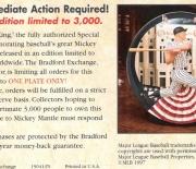 1997 bradford exchange