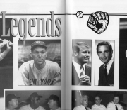 1996 BBWAA scorebook number 35 01/21