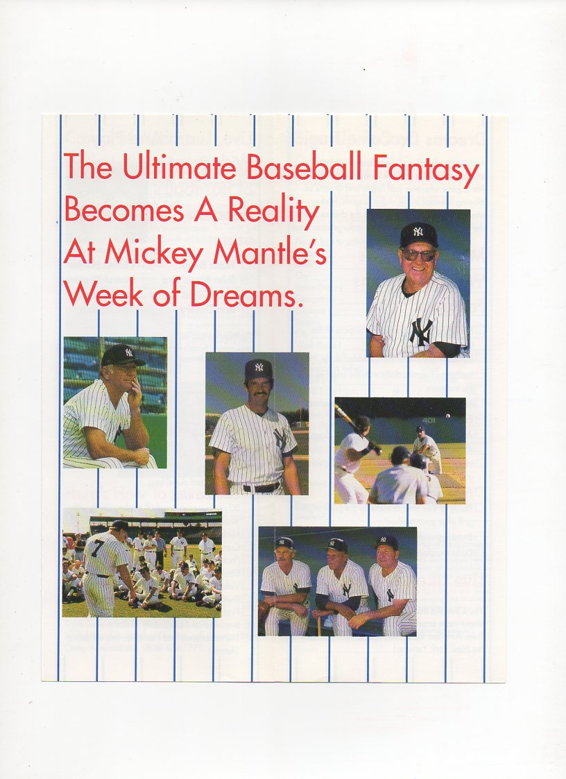 1994 mickey mantle field of dreams