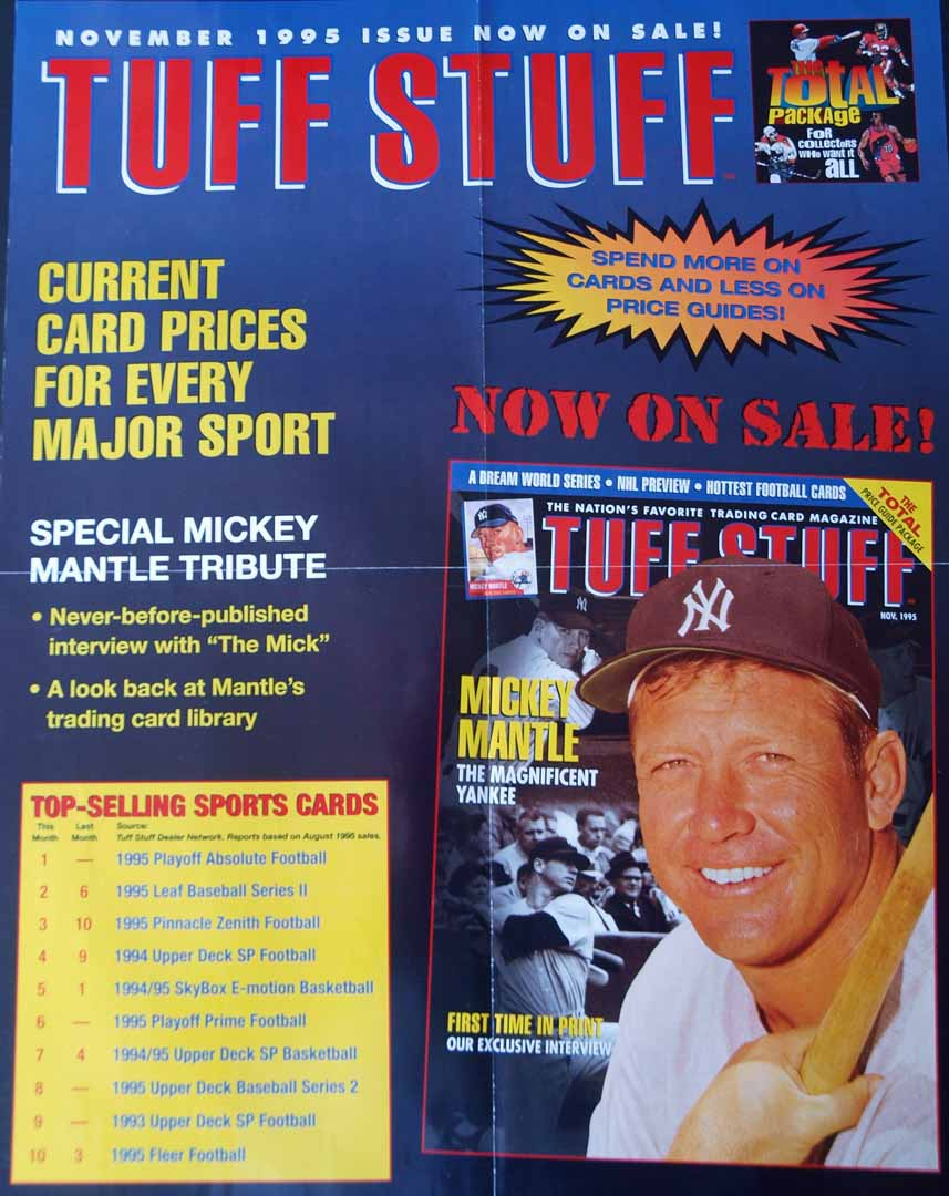 1995 Tuff Stuff large poster