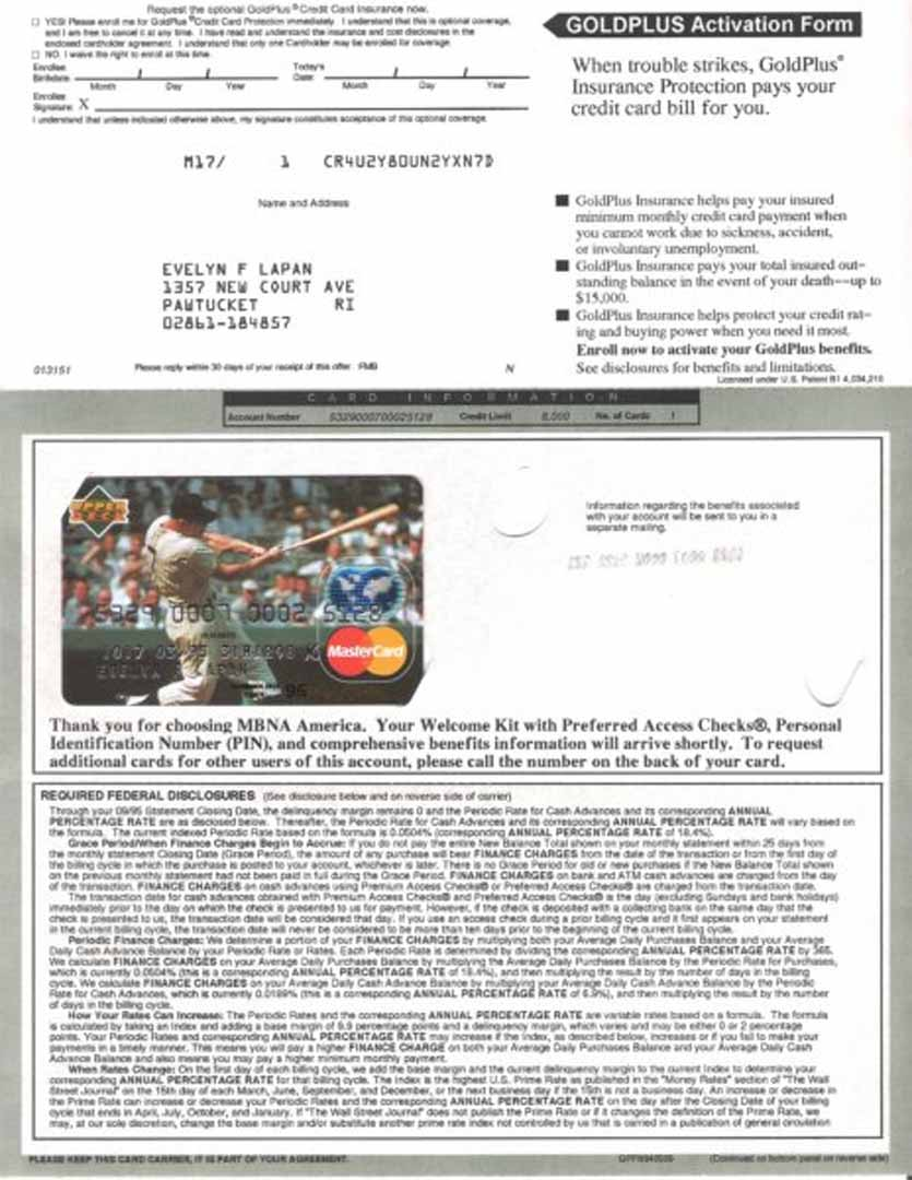 1993 mastercard