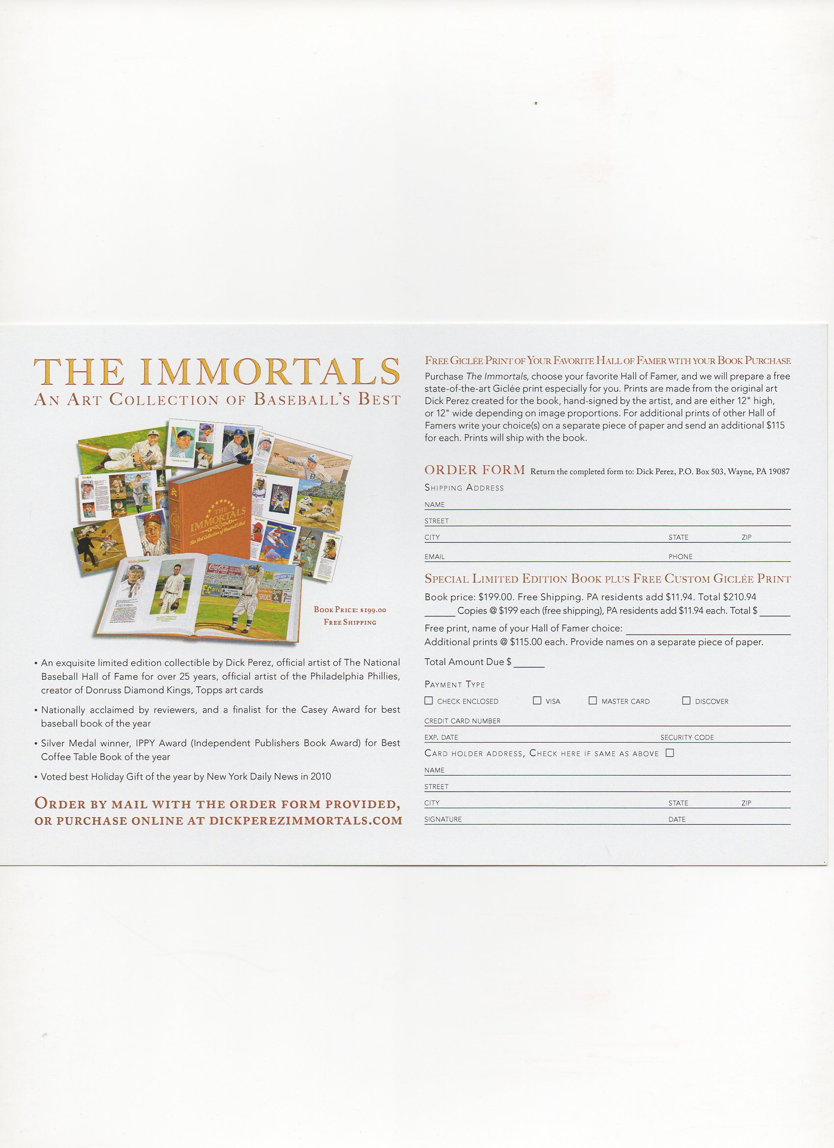 2010 the immortals, dick perez, side 2