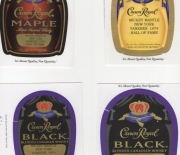 2014 crown royal paste over label