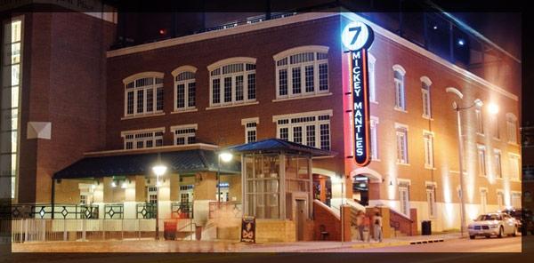 mickey mantle,s restaurant, oklahoma city, oklahoma