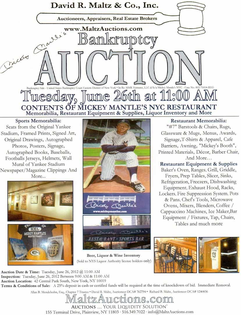 2012 David R. Maltz auctions, 06/26/2012