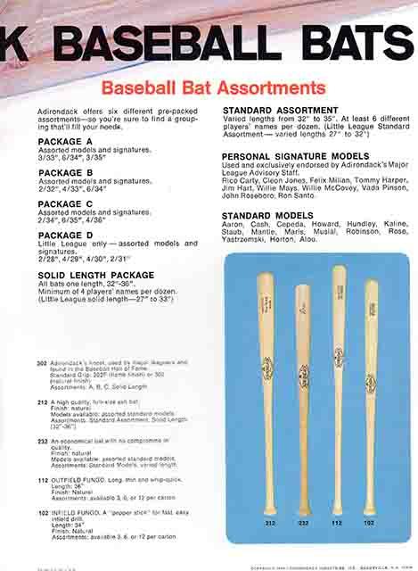 1970 adirondack catalog