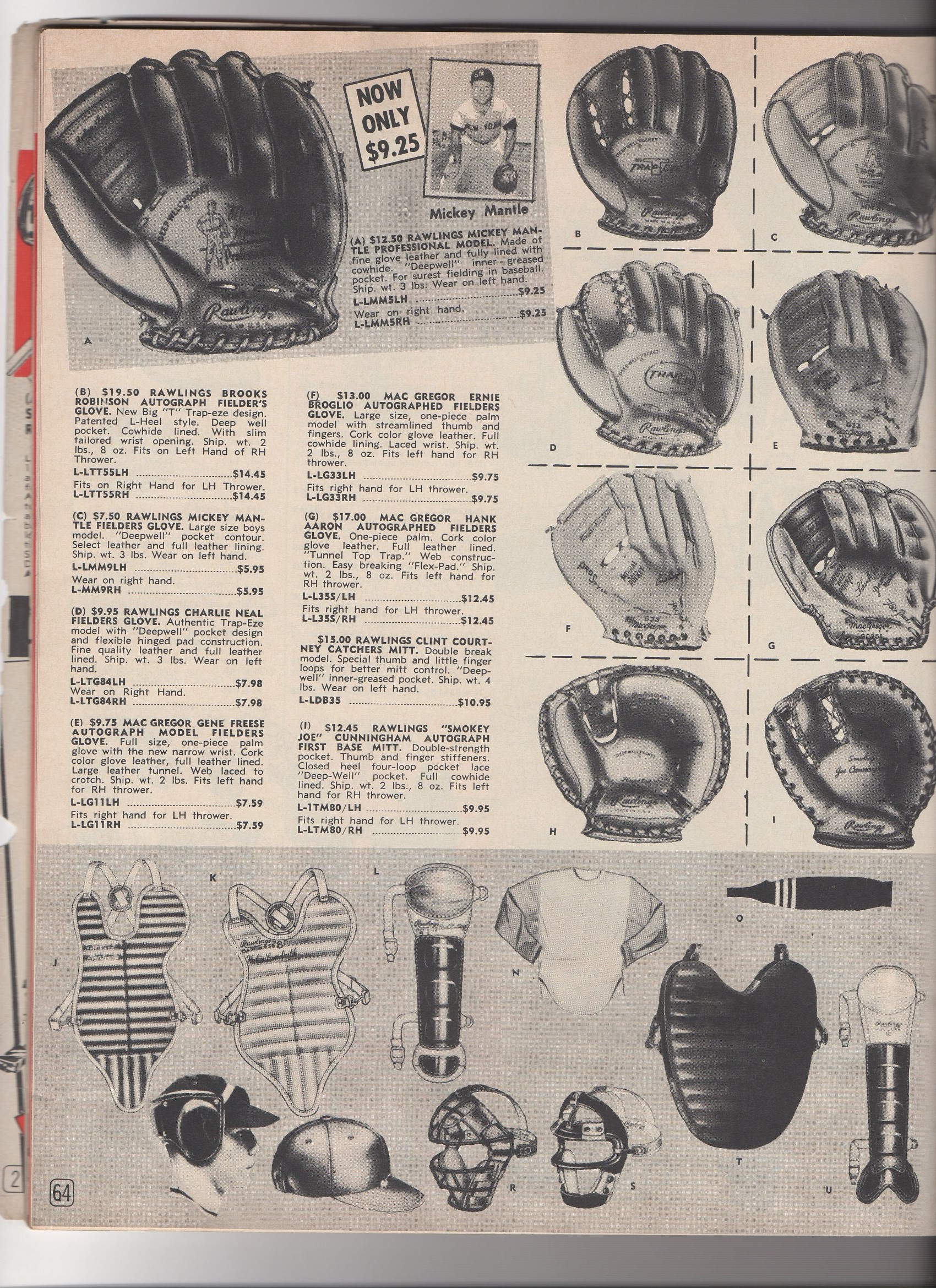 1963 gateway sporting goods catalog, no. 163