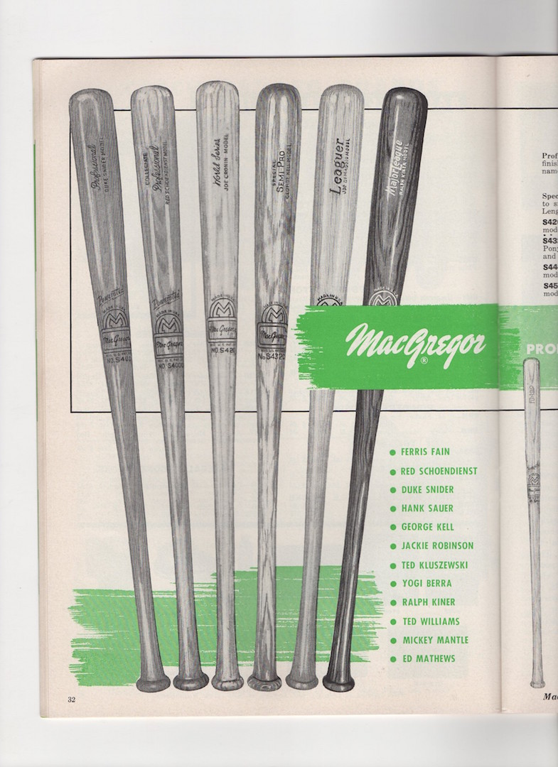 1956 Macgregor, spring/summer, institutional edition