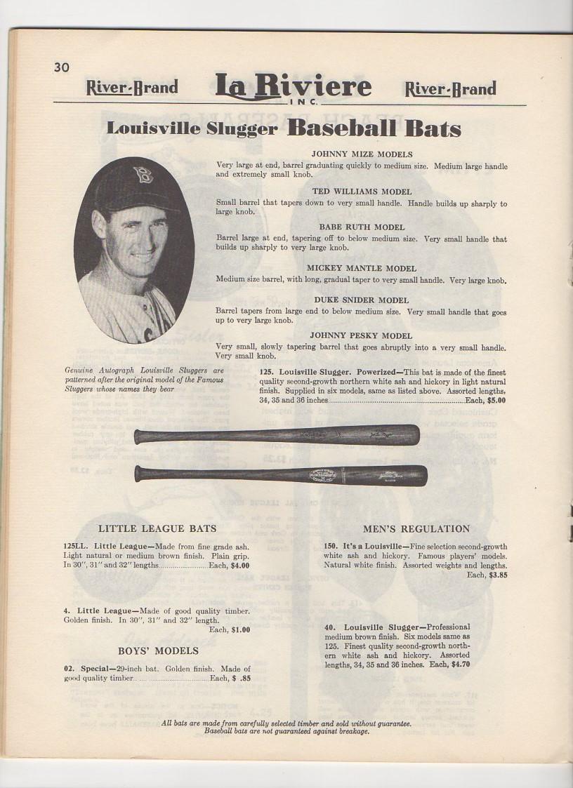 1954 La Riviere catalog canadian