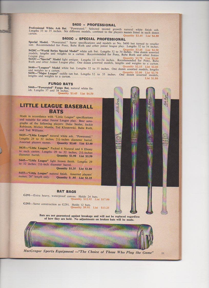 1959 macgregor catalog