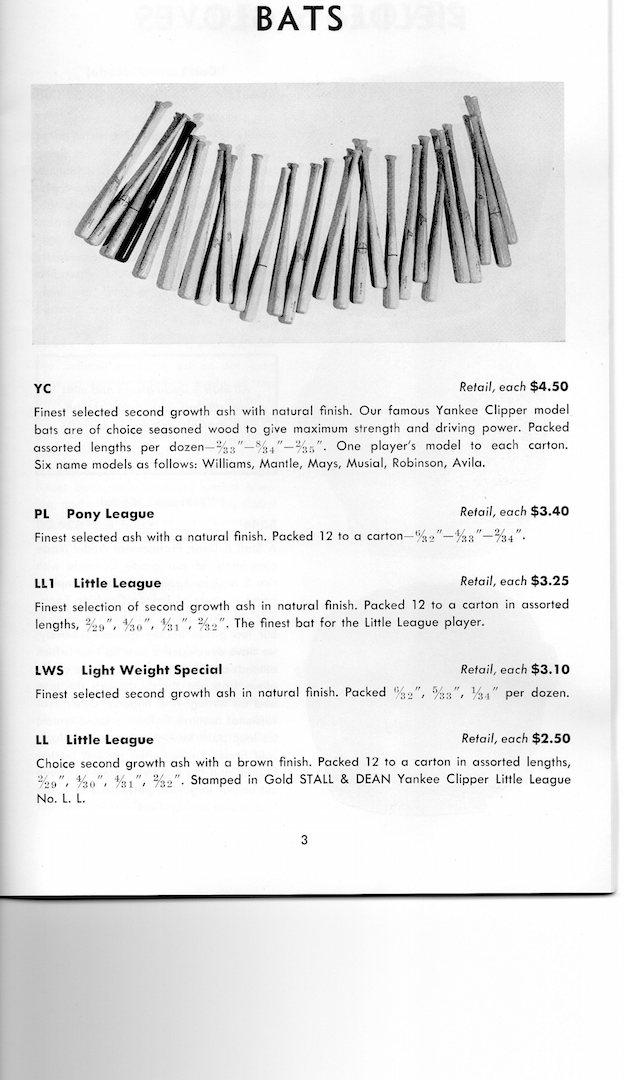 1958 stall@dean catalog