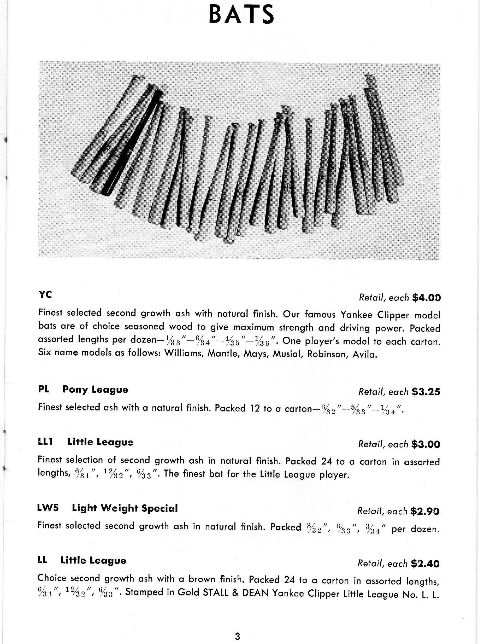 1957 stall@dean catalog