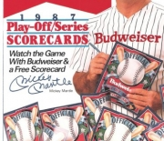 1987 double tent card
