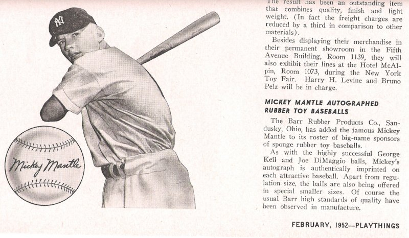 1952 playthings February