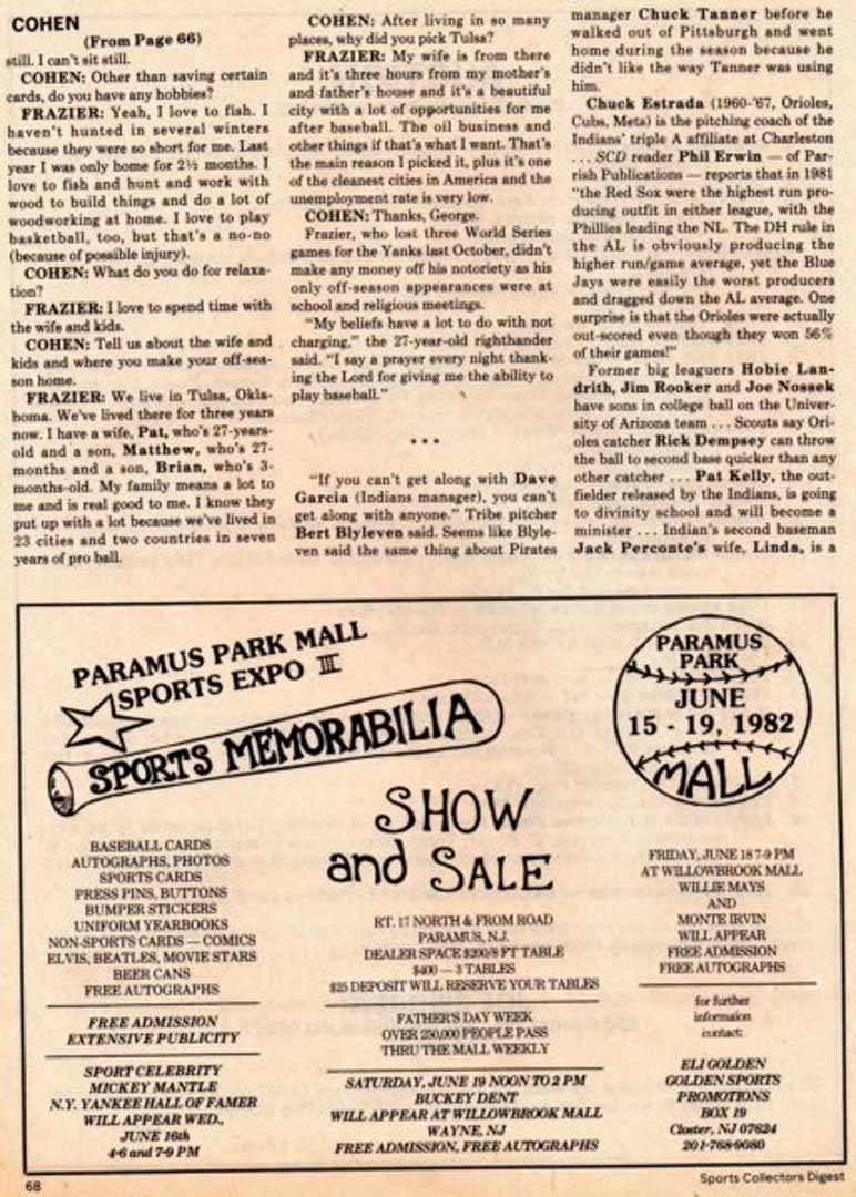 1982 SCD may