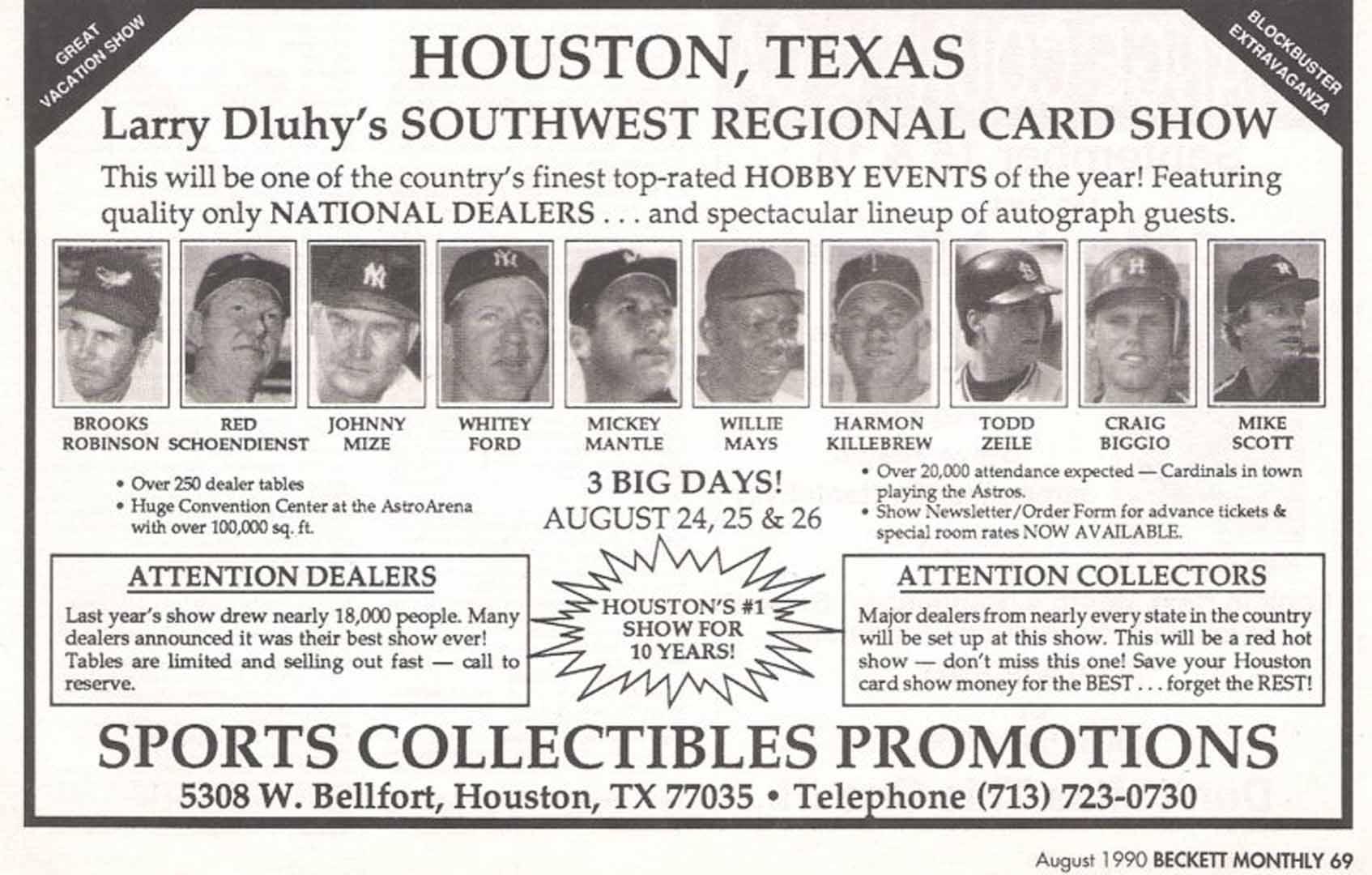 1990 beckett august