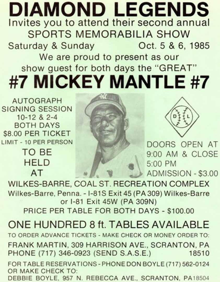 1985 show flyer oct.