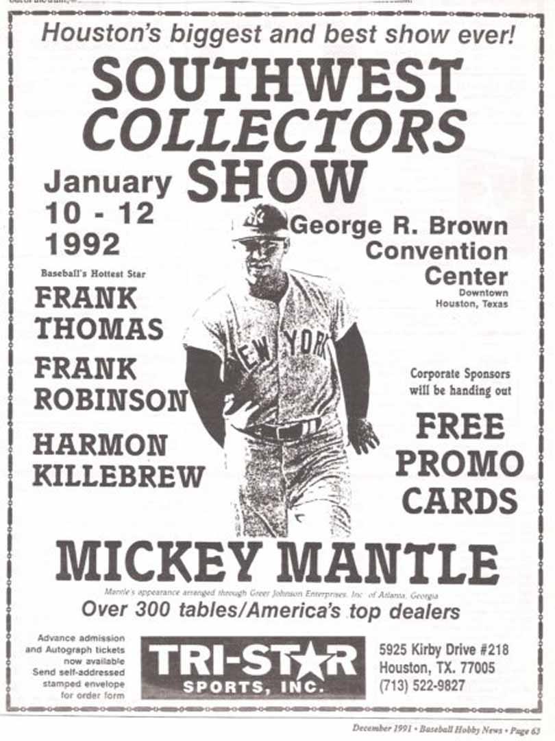 1991 baseball hobby news dec.