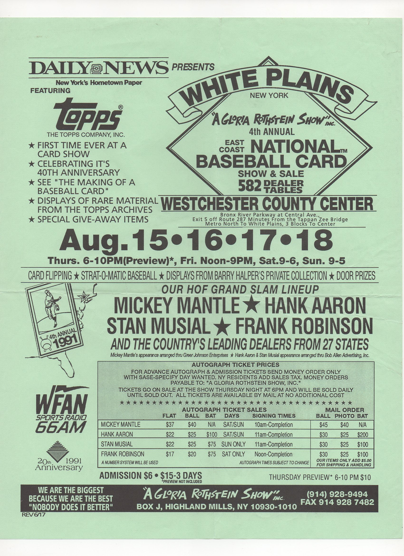 1991 flyer