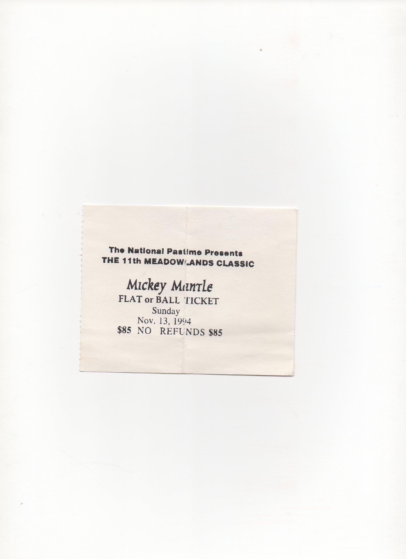 1994 ticket