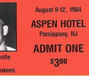 1984 show ticket august