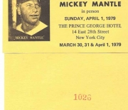 1979 show ticket