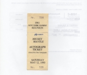 1990 PIP tickets, autograph saturday 05/12/1990