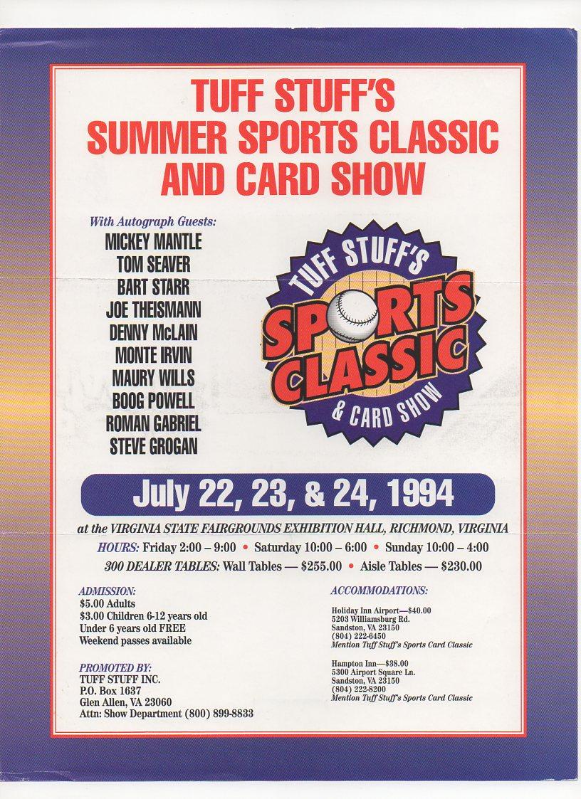 1994 tuff stuff flyer