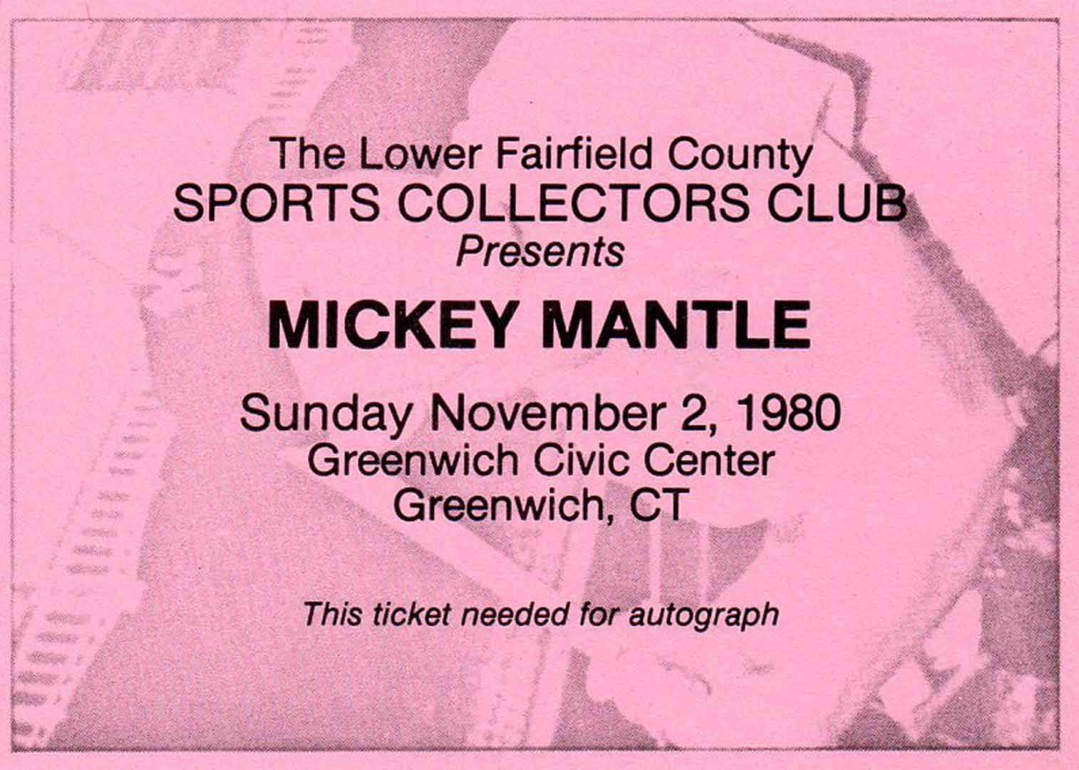1980 lower fairfield sports collectors club, 11/02